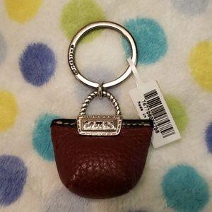 New BRIGHTON Mini Purse Key Fob Key Ring